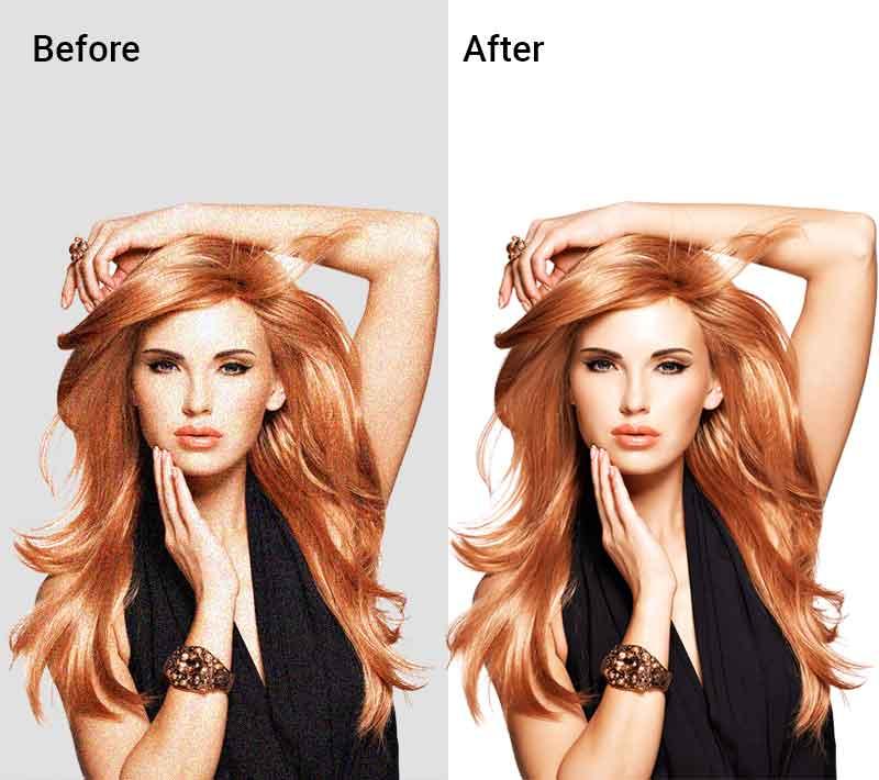photo retouching service