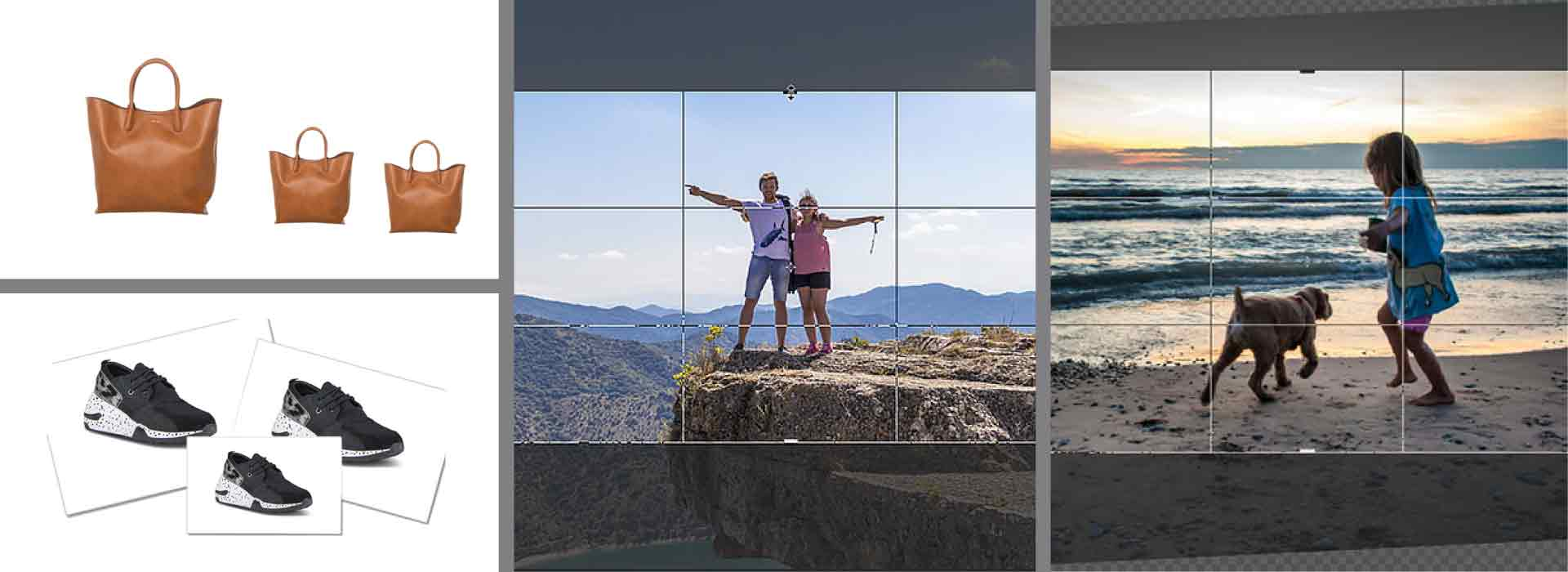Photo resizing and cropping services