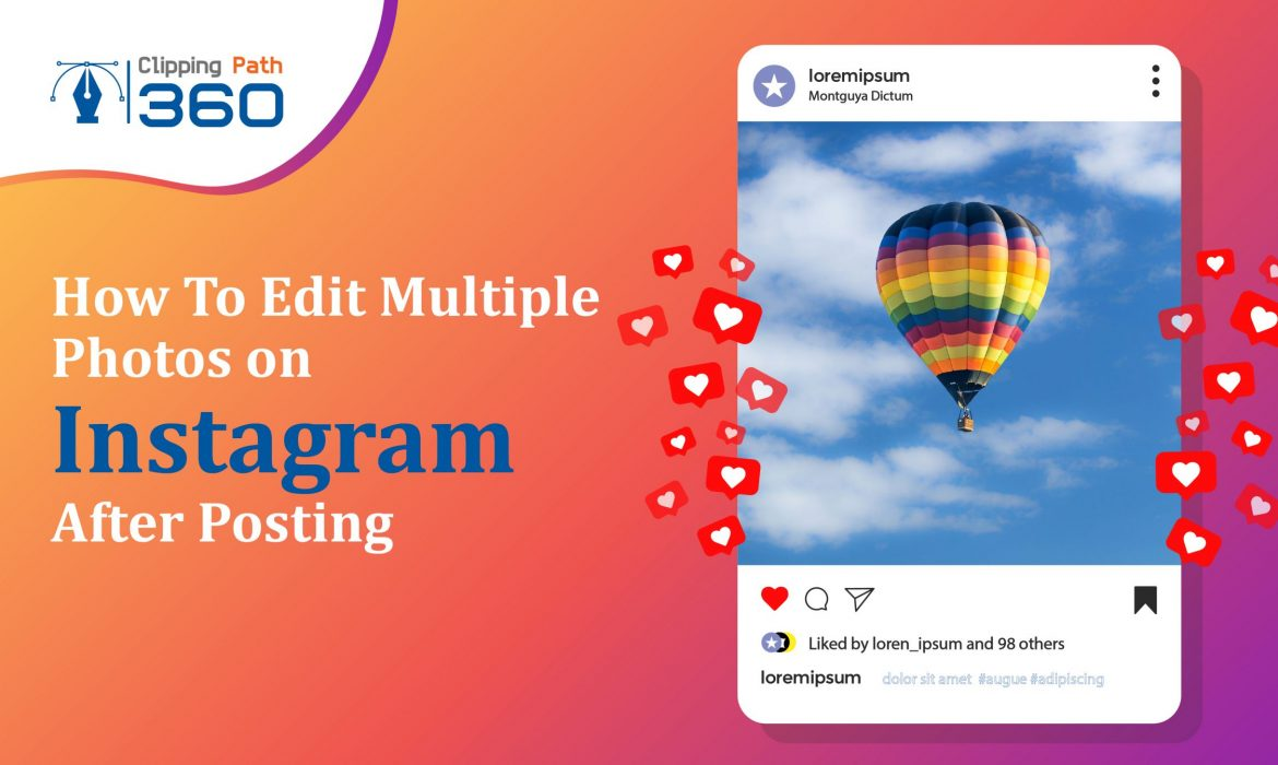 how to edit multiple photos on instagram